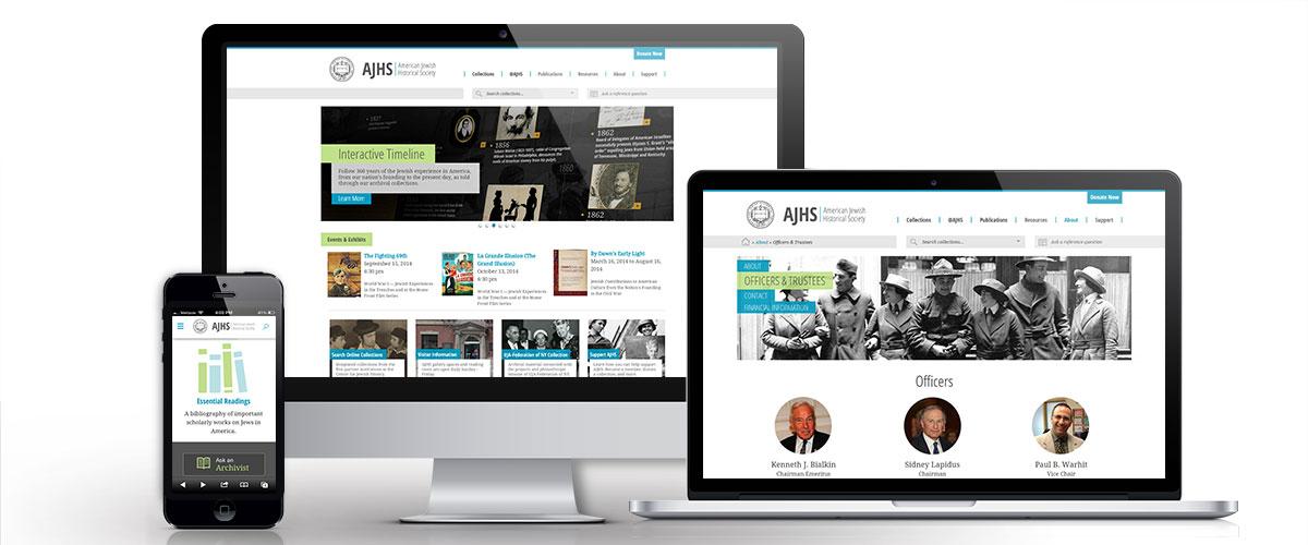 Ajhs website