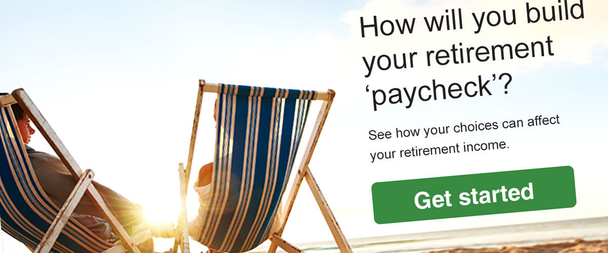 Fidelity Retirement Paycheck Interactive