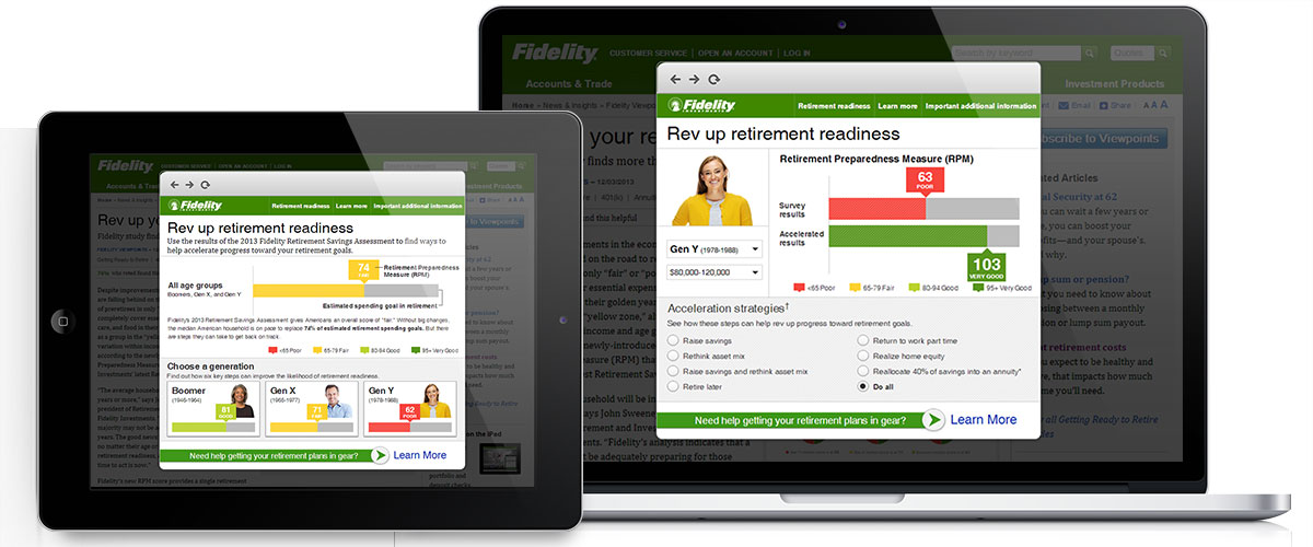 Fidelity Retirement Readiness Assessment